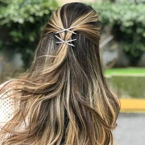 X bling hairpin 1pc